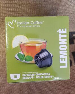 Capsula Dolce Gusto Italian Coffee Lemontè 16 Pz