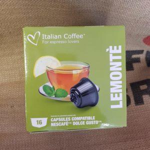 nescafè dolce gusto italian coffee lemonte