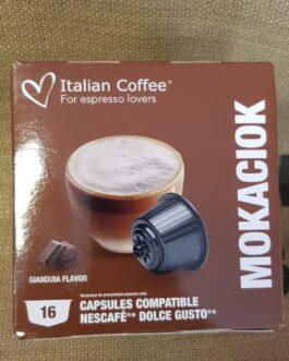 Capsula Dolce Gusto Italian Coffee Mokaciok 16 Pz