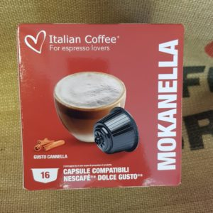 nescafè dolce gusto italian coffee mokanella