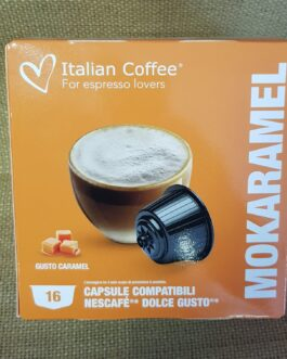 Capsula Dolce Gusto Italian Coffee Mokaramel 16 Pz