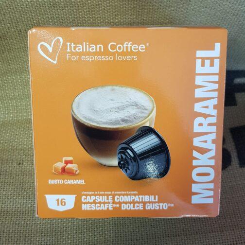 nescafè dolce gusto italian coffee mokaramel