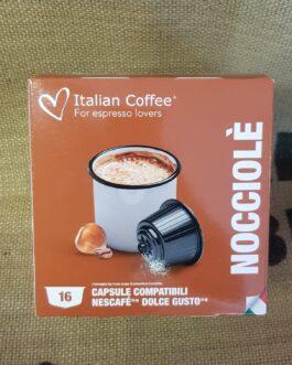 Capsula Dolce Gusto Italian Coffee Nocciole 16 Pz