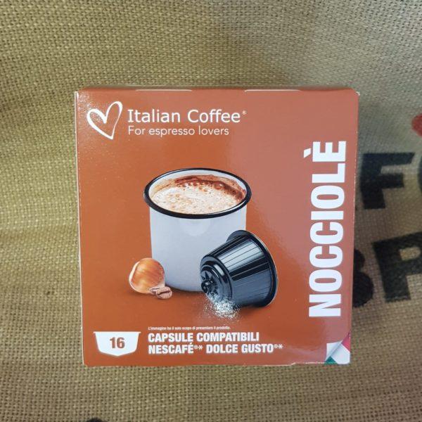 nescafè dolce gusto italian coffee nocciole