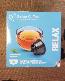 Capsula Dolce Gusto Italian Coffee Relax 16 Pz