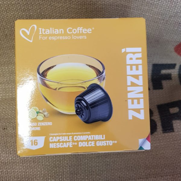 nescafè dolce gusto italian coffee zenzero