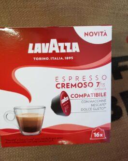Capsula Dolce Gusto Lavazza Espresso Cremoso 16 Pz