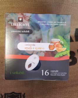 Capsula Dolce Gusto Lollo Caffè Miele ed Arancia 16 Pz