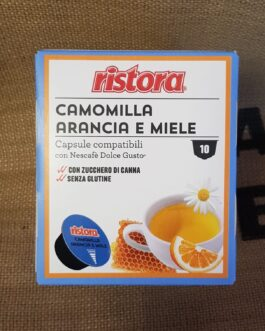 Capsula Dolce Gusto Ristora Camomilla Arancia e Miele 10 Pz