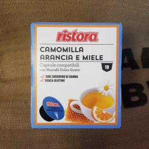 nescafè dolce gusto ristora camomilla arancia e miele