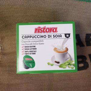 nescafe solce gusto cappuccino di soia