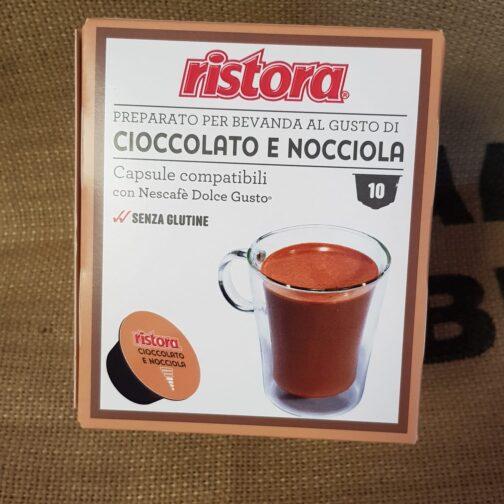 nescafè dolce gusto ristora cioccolato e nocciola