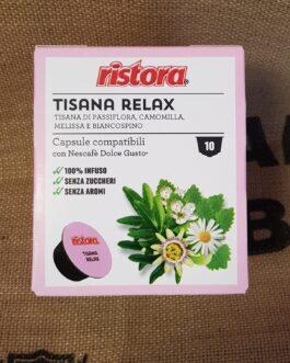 Capsula Dolce Gusto Ristora Tisana Relax 10 Pz