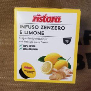 nescafe dolce gusto zenzero e limone