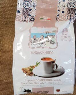 Capsula Dolce Gusto Toda/Gattopardo Caffè al Ginseng 16 Pz