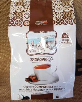 Capsula Dolce Gusto Toda/Gattopardo Cioccolato 16 Pz