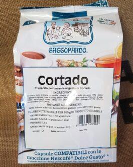 Capsula Dolce Gusto Toda/Gattopardo Cortado 16 Pz