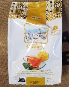 Capsula Dolce Gusto Toda/Gattopardo The al Limone 16 Pz
