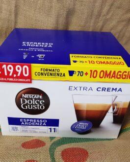 Capsula Nescafè Dolce Gusto Espresso Ardenza 80 Pz