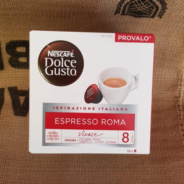 nescafe dolce gusto espresso roma