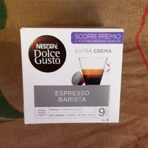 nescafè dolce gusto espresso barista extra crema