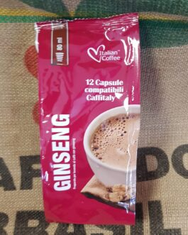 Caffitaly Italian Coffee Ginseng 12 Pz