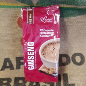 caffitaly italian coffee ginseng