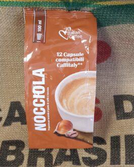 Caffitaly Italian Coffee Nocciola 12 Pz