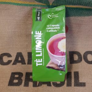 caffitaly italian coffee tè limone