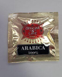 Cialda 44 mm Officina 5 Caffe Aroma Arabica 1 a 300 pz