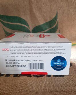 Lavazza Blue Covim Decaffeinato 100 pz
