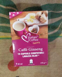 Lavazza Blue Italian Coffee Caffè Ginseng 15 pz