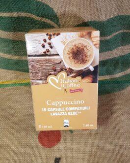 Lavazza Blue Italian Coffee Cappuccino 15 pz