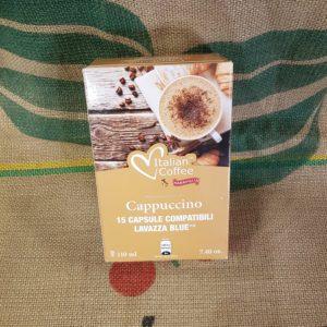 lavazza blu italian coffee cappuccino