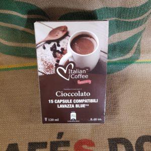 lavazza blu italian coffe cioccolato