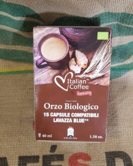 Lavazza Blue Italian Coffee Orzo Biologico 15 pz