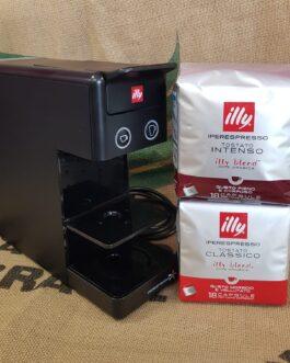Macchina Caffè Illy Iperespresso + 36 capsule omaggio