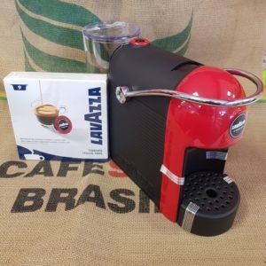 macchina da caffè jolie rossa