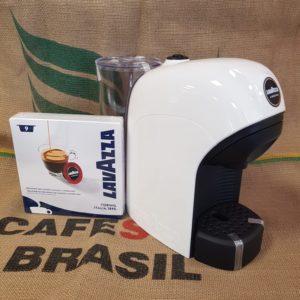 macchina da caffè tiny bianca