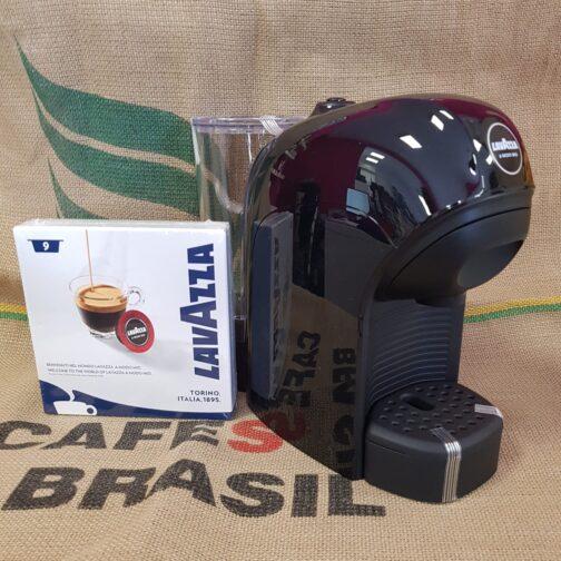 macchina da caffe tiny nera