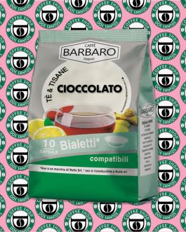 Bialetti Barbaro Caffè al Cioccolato 10 Pz