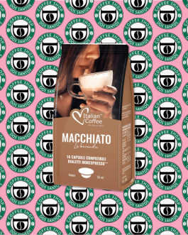 Bialetti Italian Coffee Caffè Macchiato 16 Pz