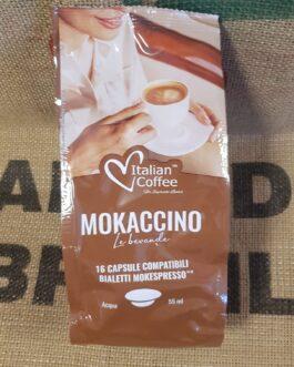 Bialetti Italian Coffee Mokaccino 16 Pz