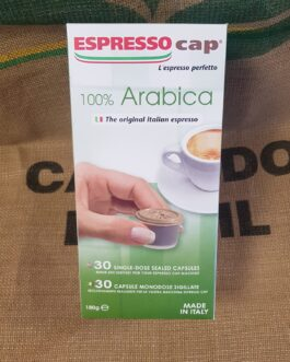 Espresso Cap Termozeta Arabica 30 Pz