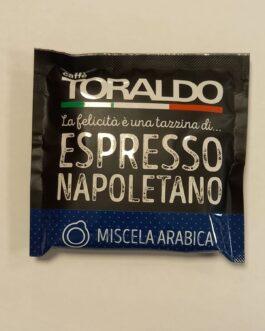 Cialda 44 mm Toraldo Miscela Arabica da 1 a 300 pz