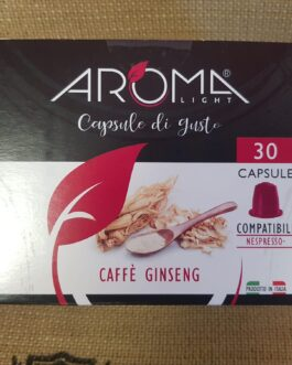 Capsula Nespresso Aroma Caffè Ginseng 30 Pz
