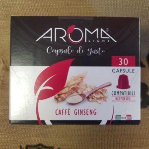 nespresso aroma caffè ginseng