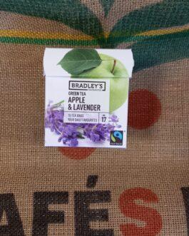 Tè e Tisane Bradley's Tè Mela e Lavanda 10 Pz
