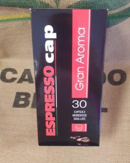 Espresso Cap Termozeta Gran Aroma 30 Pz