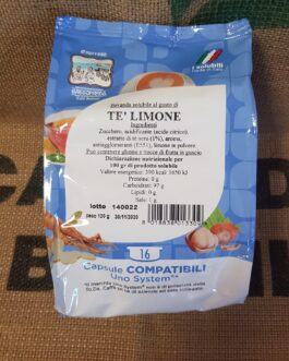 Uno System Toda/Gattopardo Tè Limone 16 Pz